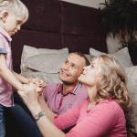 Дети после кохлеарной имплантации — фото семьи Максима